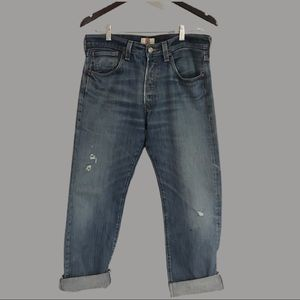 Vintage Levi's sz 33/31 501's button fly jeans